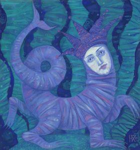 Melusine, underwater fantasy