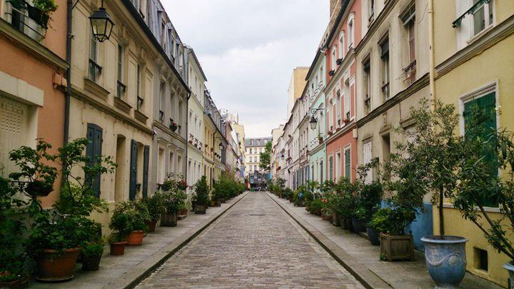 Backstreets of Paris - Halliday