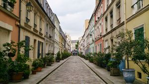 Backstreets of Paris