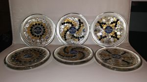 Corona coasters set of six