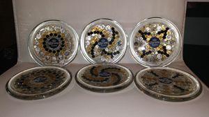 Corona coasters set of six - Creations By Mia