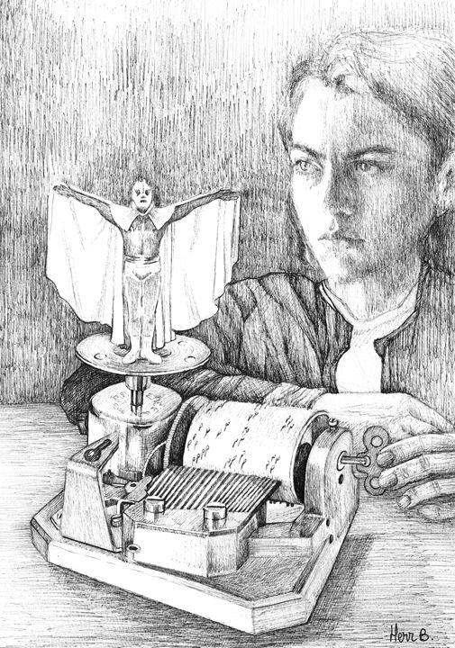 The white angel - herr b