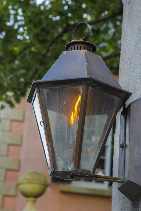 Charleston Gas House Lamp - Daniel S. Krieger Photography