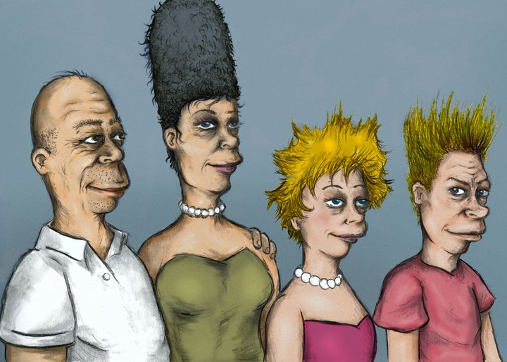 The real simpsons - stars