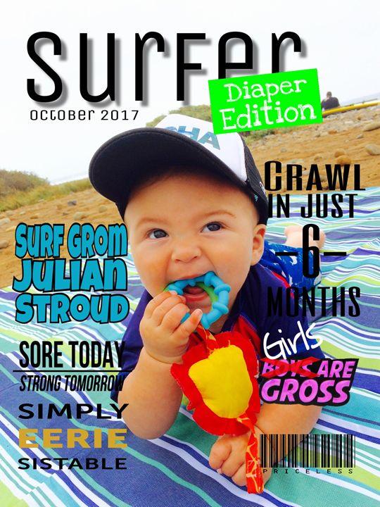 "Customized Magazine Covers 8x10"" - M.Sofia"