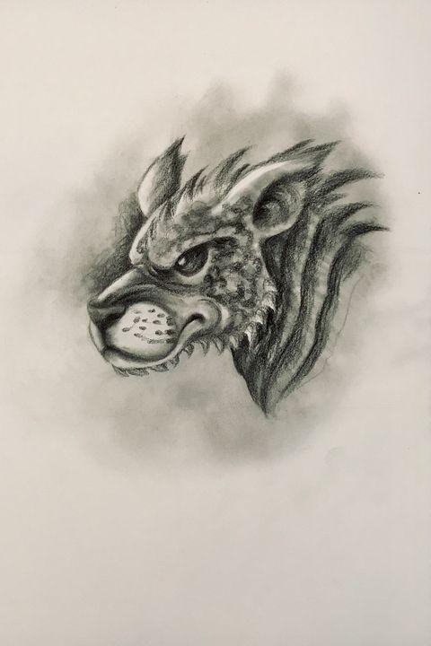 Sketching - Freybug (Hellhound) - Online Lesson Demo Works