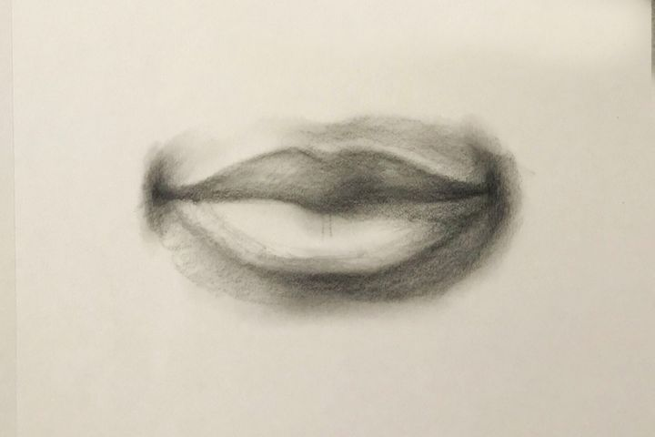 Sketching - Lips - Outschool Demo Works