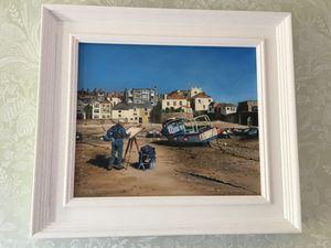 St Ives Bay ,Cornwall - Paul Whitehead. Art works in oil