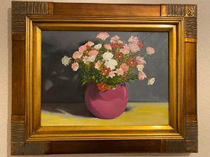 Plum blossom - Paul Whitehead. Art works in oil