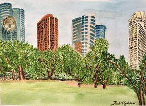 Houston from Bayou park