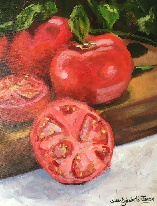 Love Apples - Colorful & Charming Art of Susan Elizabeth Jones