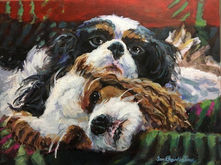 Cavalier Attitude - Colorful & Charming Art of Susan Elizabeth Jones