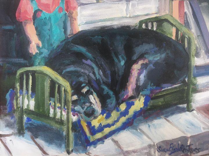 Max - Colorful & Charming Art of Susan Elizabeth Jones
