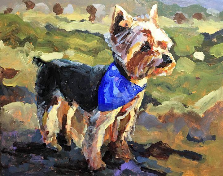 Yorkie - Colorful & Charming Art of Susan Elizabeth Jones