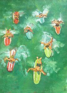 Catch a Wave - Colorful & Charming Art of Susan Elizabeth Jones