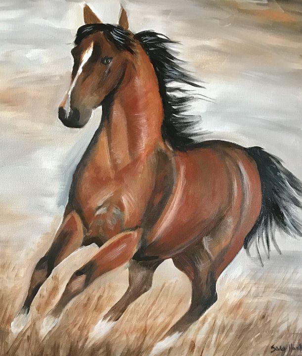 When we Fly - Blue Horse Fine Art Co.