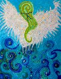Angel of the sea.abstract unframed i