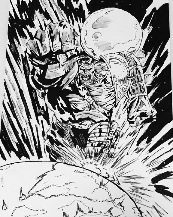 World war hulk - Greg Mcloughlin