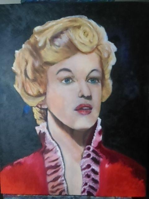 """""""Marylin"""" - Iggys original paintings"""