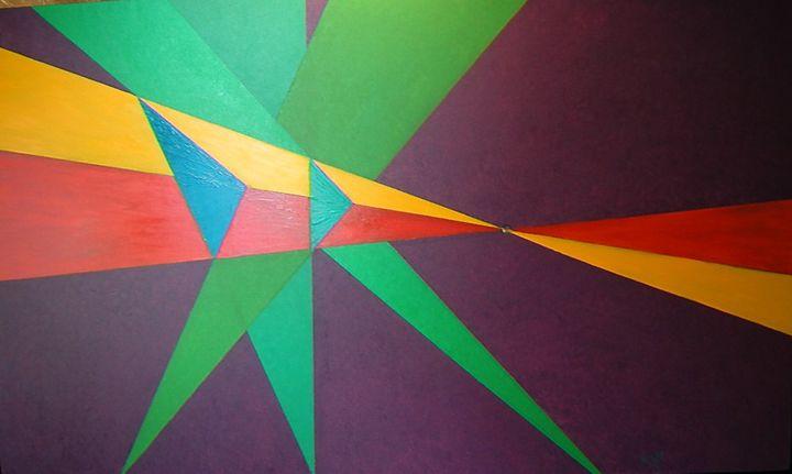 """esence of perspective"" - Iggys original paintings"
