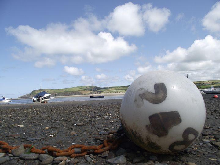 Sea Buoy Landscape - Patrick Tudor