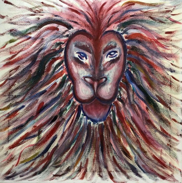 The color full lion - Bryndís Gunzo