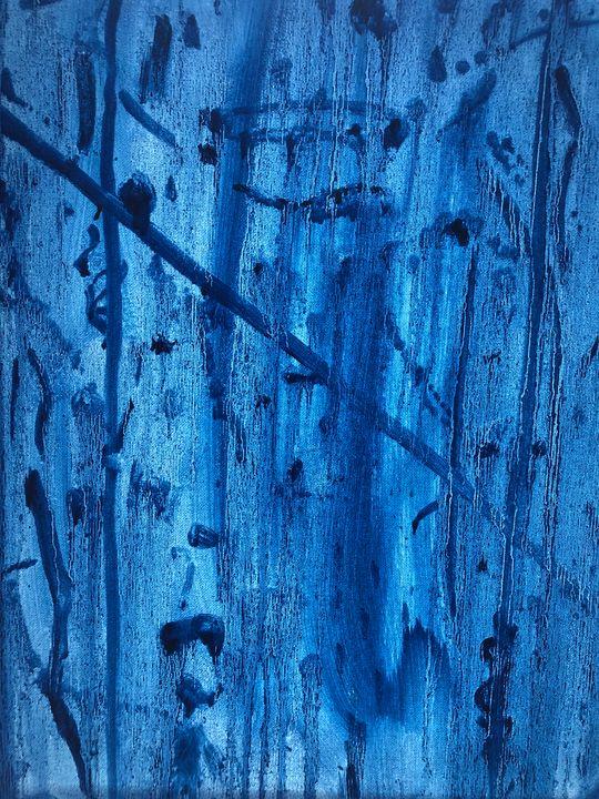 Blue devil - Bryndís Gunzo