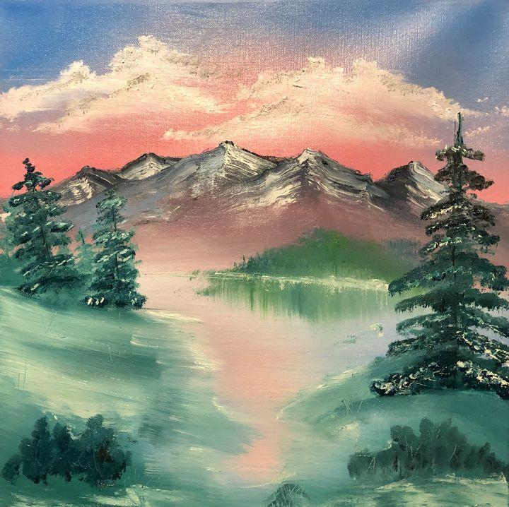 Pink winter - Bryndís Gunzo