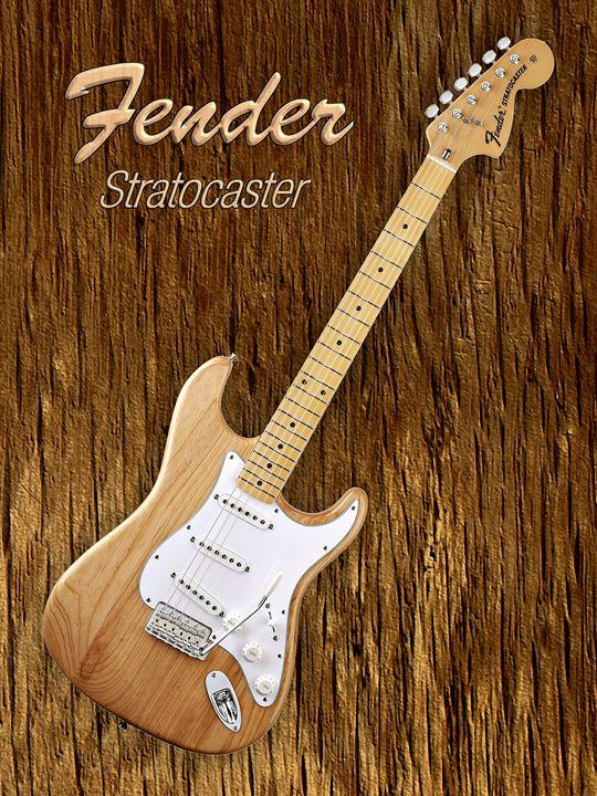 American Fender Stratocaster - music