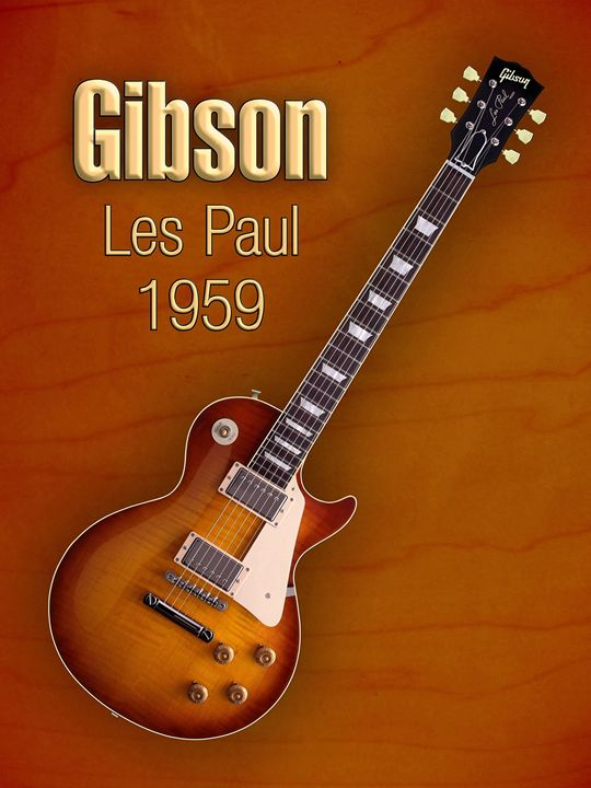 Vintage Gibson Les paul 1959 - music