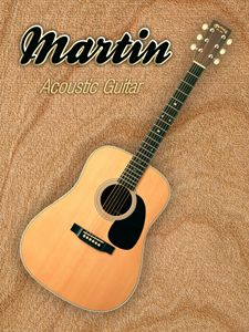 Wonderful Martin Acoustic Guitar