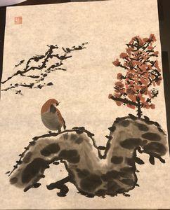 Sparrow and Plum Blossom