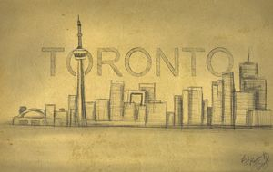 Toronto Digital artwork