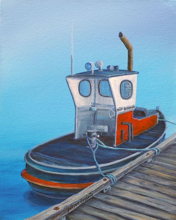 Boom Tugboat - Original Art by Wayne