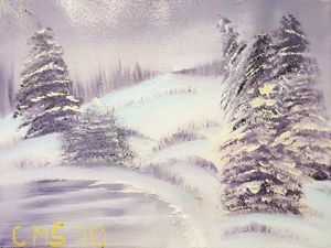 Winter in Violet