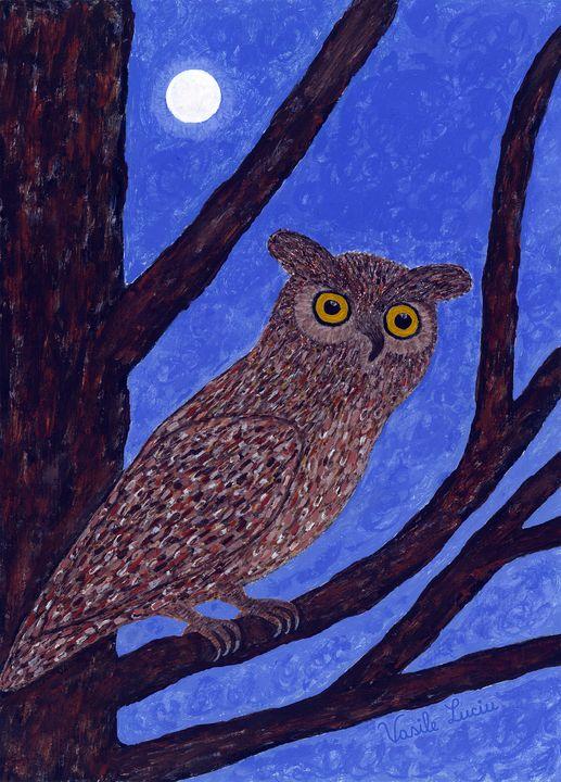 The Watchful Night - Vasile Luciu Art