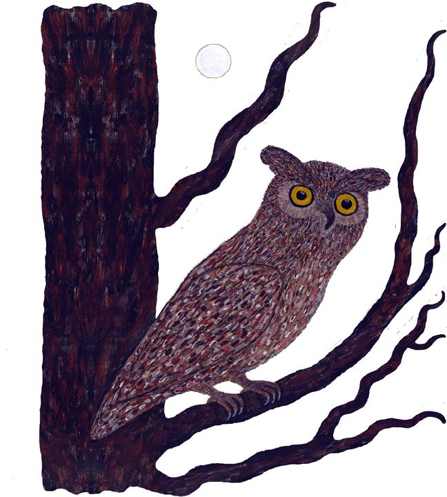 The Watchful Night design - Vasile Luciu Art