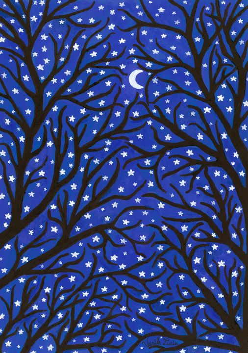 The Starlight Woods - Vasile Luciu Art