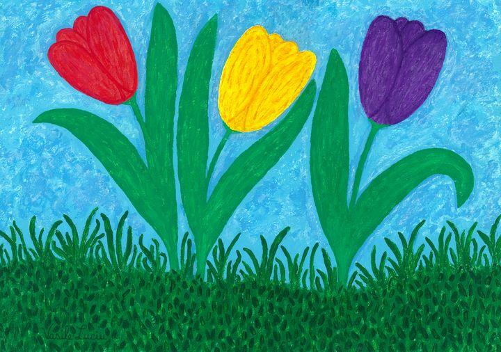 Tulips - Vasile Luciu Art