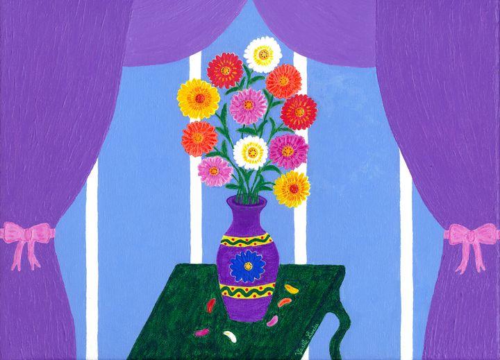 Blooming Daisies - Vasile Luciu Art