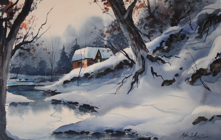 """WINTER EVENING"" - IMAGE GALLERY"