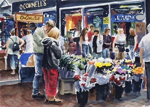 """DUBLIN FLOWER MARKET"" - IMAGE GALLERY"