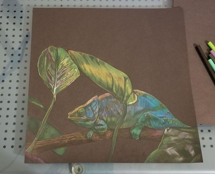 The Chameleon - ArtByAmandaSheridan
