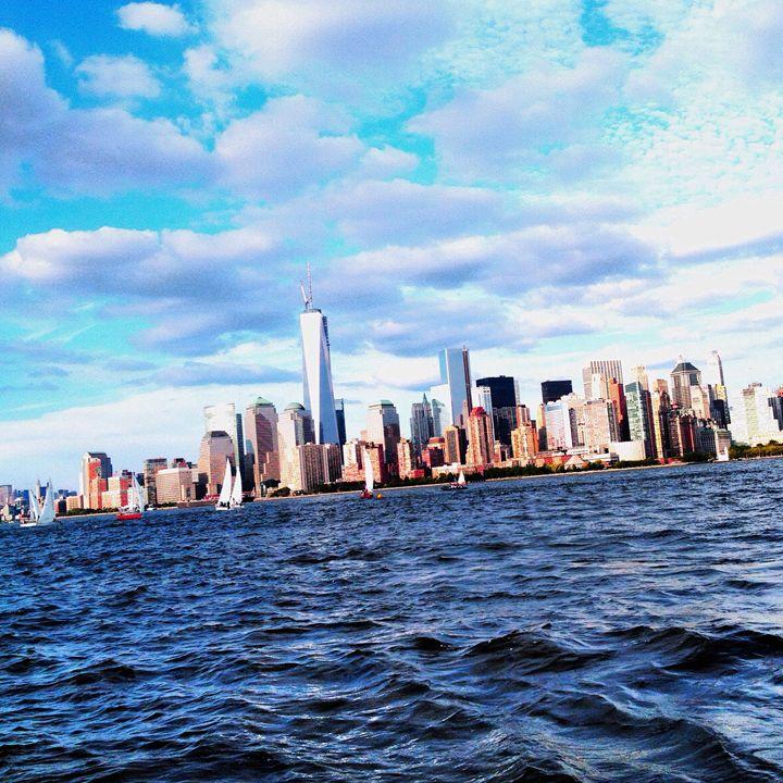 Manhattan Skyline - Limor's Art