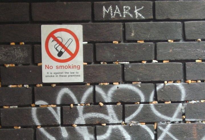 'No Smoking' - MGL