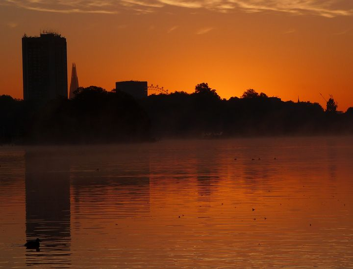 'Sun Rising In Hyde Park' - MGL