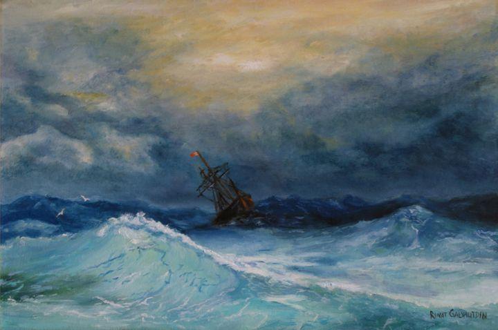 Storm in the sea - Rinat Galyautdinov