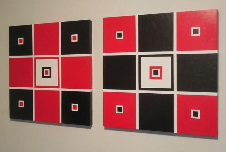 All These Squares - J.R. DeSigNs, LLC