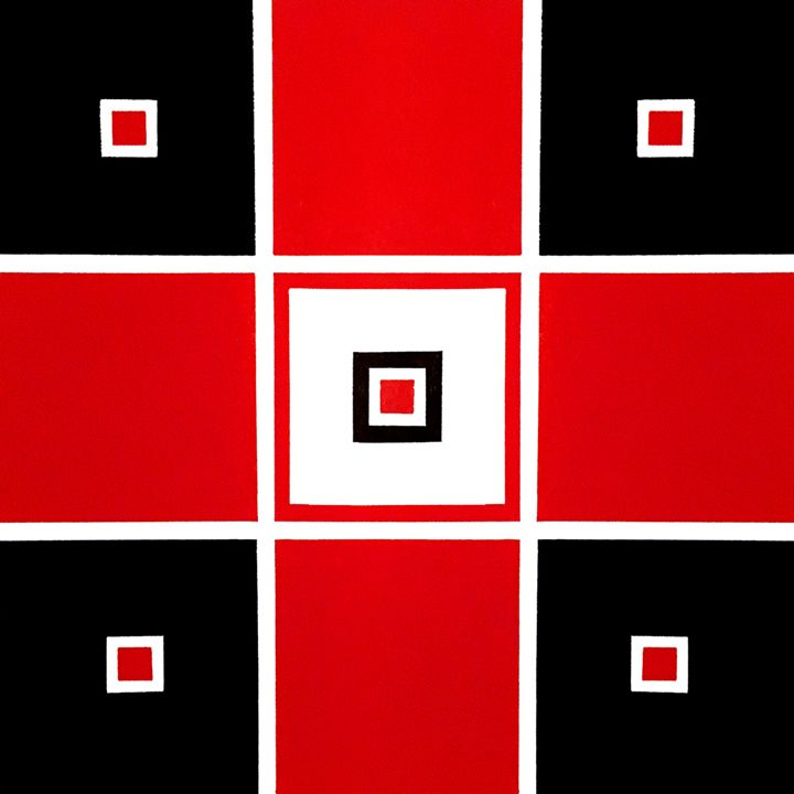 All These Squares One - J.R. DeSigNs, LLC