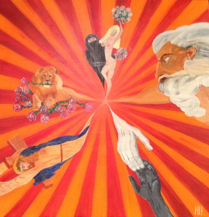Old England is dieing - Danny Jefferis Art